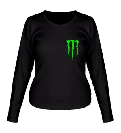 Женский лонгслив Monster Energy Symbol