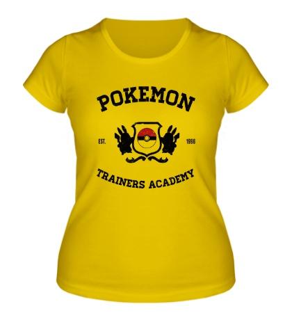 Женская футболка Pokemon Trainers Academy