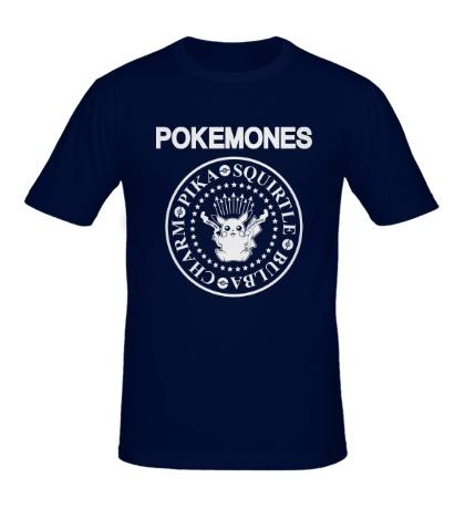 Мужская футболка The Pokemones