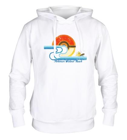 Толстовка с капюшоном Pokemon Island Beach