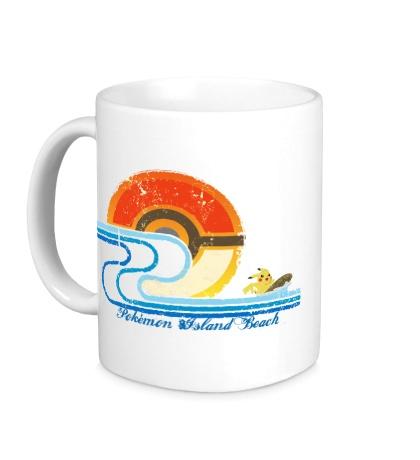 Керамическая кружка Pokemon Island Beach