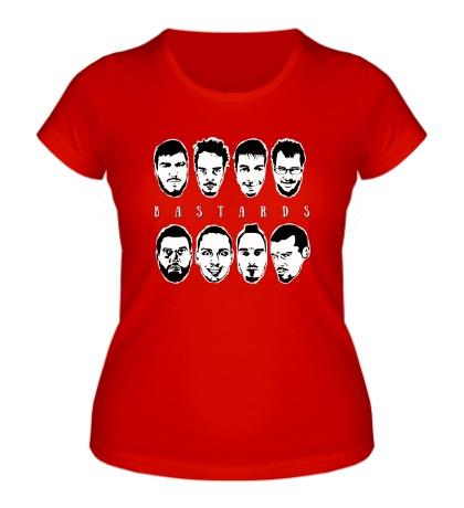 Женская футболка Bastards