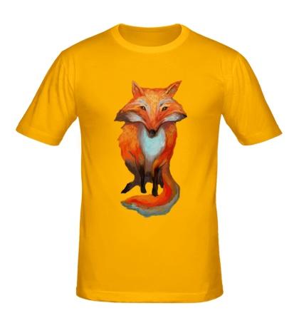 Мужская футболка Хитрый лис