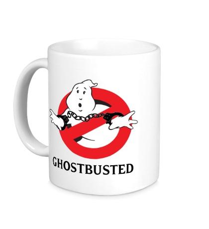Керамическая кружка Ghostbusted