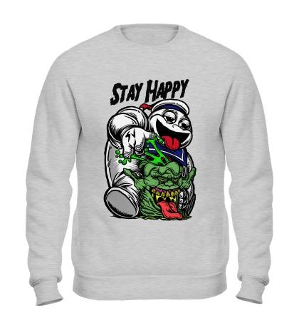 Свитшот Stay Happy