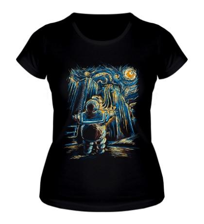Женская футболка Van Goghstbusters