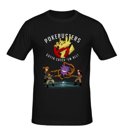 Мужская футболка Pokebusters