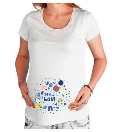 Футболка для беременной Its a Boy