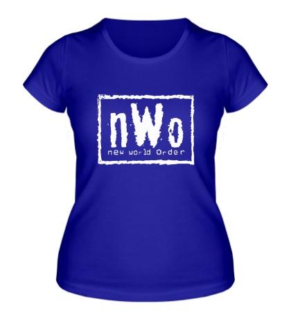 Женская футболка New world order