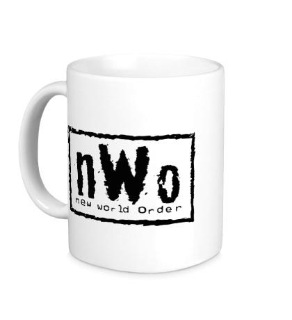 Керамическая кружка New world order