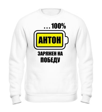 Свитшот Антон заряжен на победу