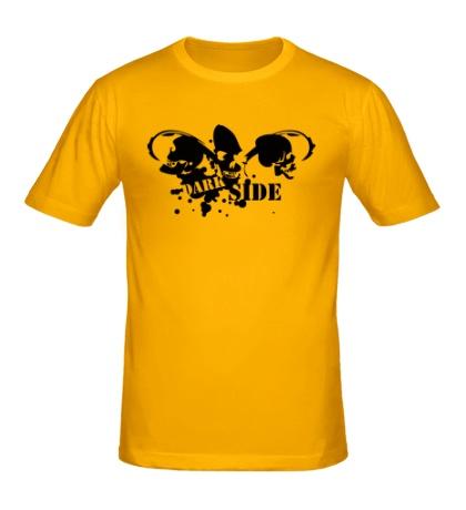 Мужская футболка Dark Side Skulls
