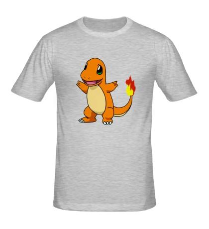 Мужская футболка Покемон Чармандер