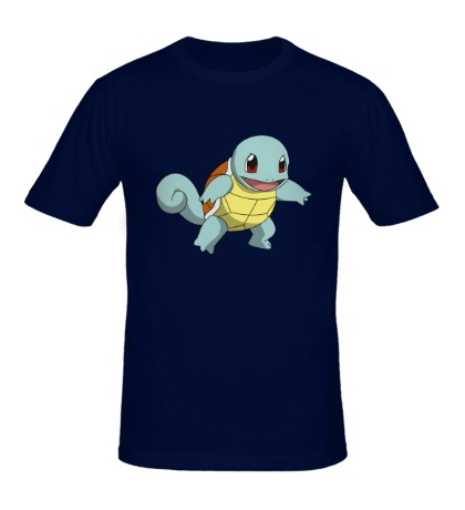 Мужская футболка Покемон Сквиртл