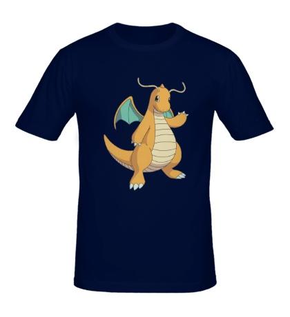 Мужская футболка Покемон Драгонит