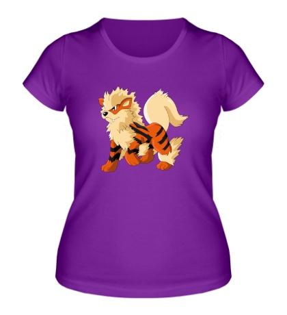 Женская футболка Покемон Арканайн
