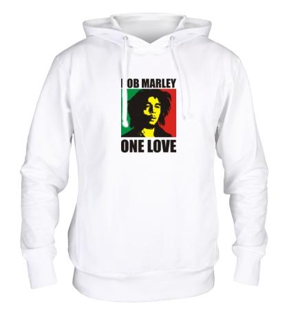 Толстовка с капюшоном Bob Marley: One Love