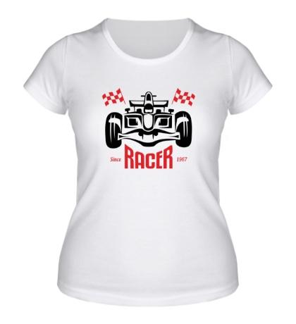 Женская футболка Great Racer