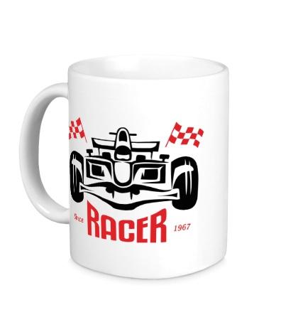 Керамическая кружка Great Racer
