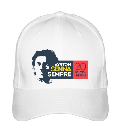 Бейсболка Ayrton Senna: 20 anos