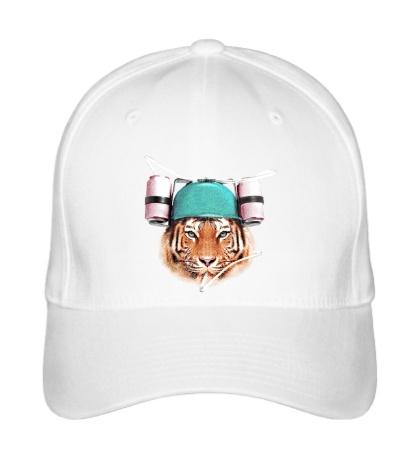 Бейсболка Тигр тусовщик
