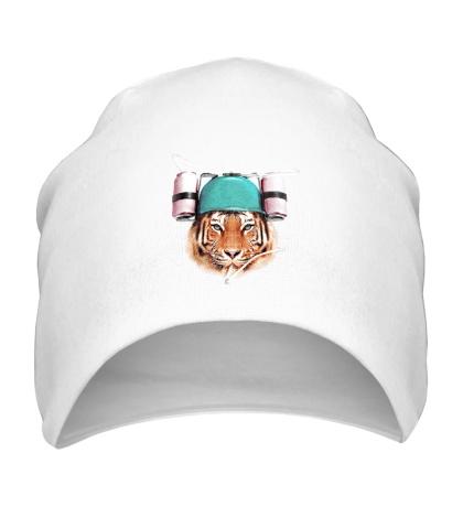 Шапка Тигр тусовщик