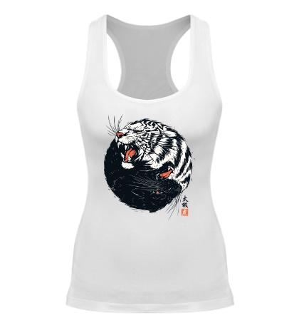 Женская борцовка Тигры Инь и Ян