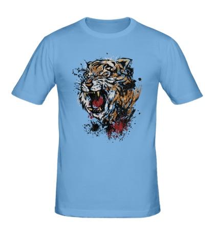 Мужская футболка Тигриный рык
