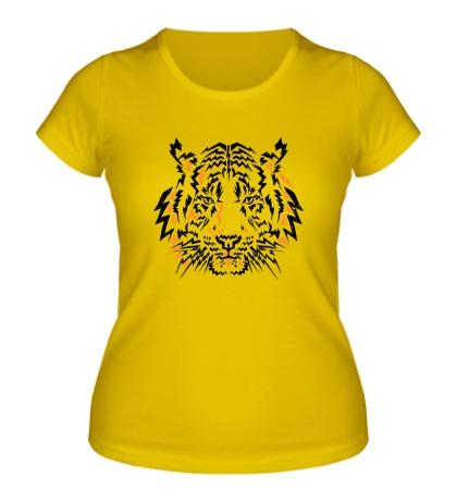 Женская футболка Flash Tiger