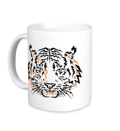 Керамическая кружка Flash Tiger