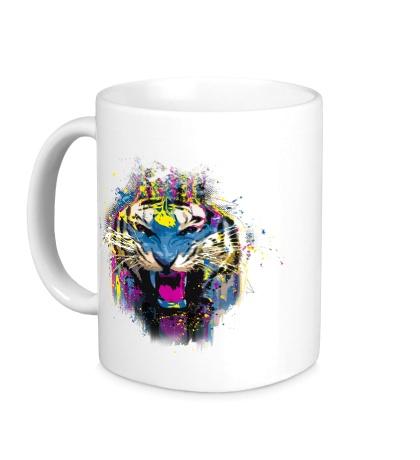 Керамическая кружка Funked Up Tiger