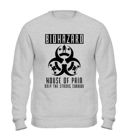 Свитшот Biohazard: House of pain