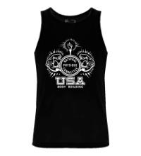 Мужская майка USA Bodybuilding