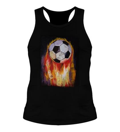 Мужская борцовка Огненный футбол