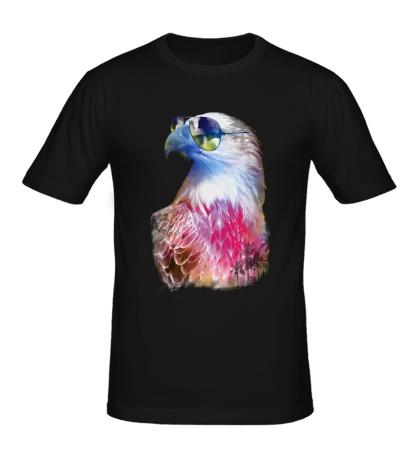 Мужская футболка Модный орел