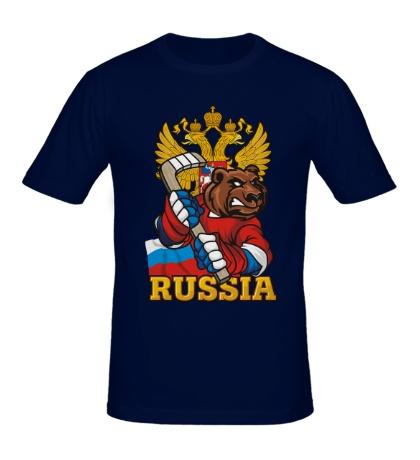 Мужская футболка Hockey Red Machine