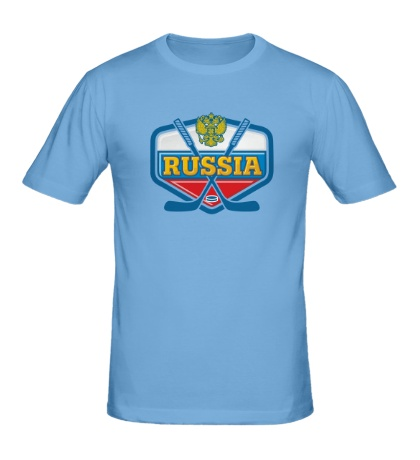 Мужская футболка Hockey Russia