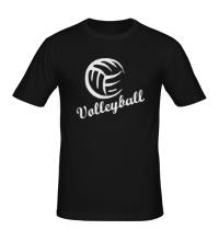 Мужская футболка Volleyball