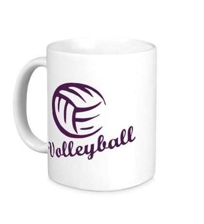 Керамическая кружка Volleyball