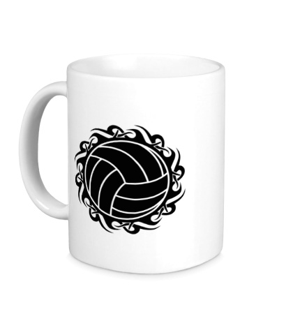 Керамическая кружка Волейбольный мяч