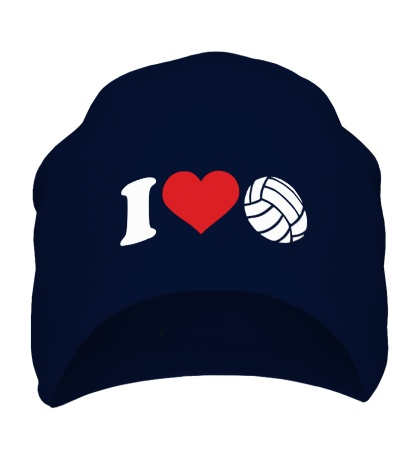 Шапка I love volley