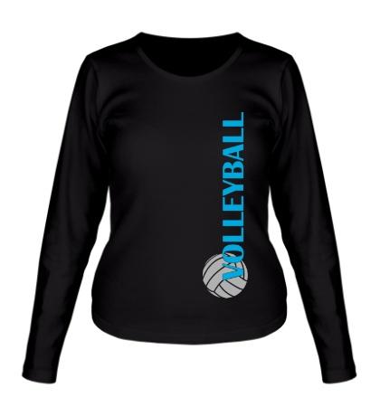 Женский лонгслив Volleyball Life