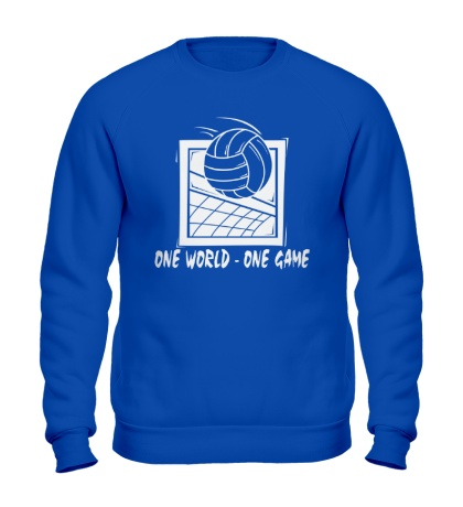 Свитшот One world, one game