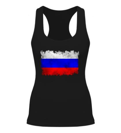Женская борцовка Флаг РФ