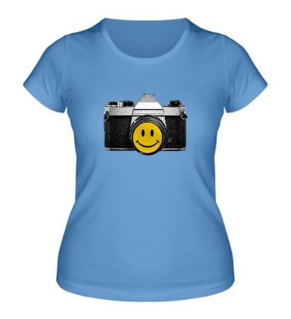 Женская футболка Smile Photo