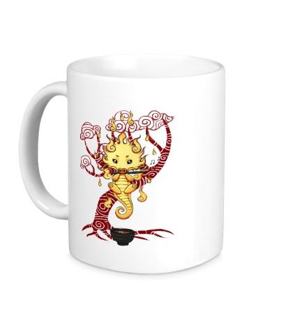 Керамическая кружка Чайный дракон