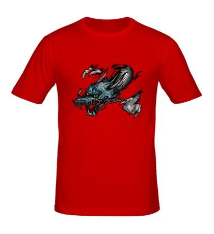 Мужская футболка Ярость дракона