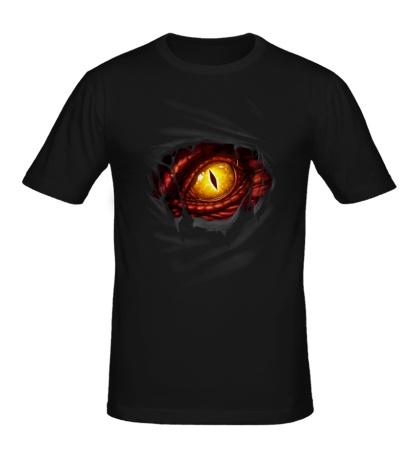 Мужская футболка Глаз дракона
