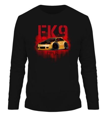 Мужской лонгслив Honda Civic EK9 Type R