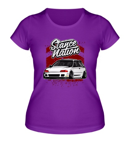 Женская футболка Stance Nation